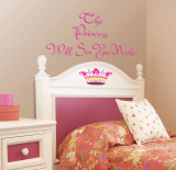 The Princess Wall Decal