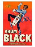 Rhum Black Giclee Print