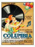 Columbia Records Giclee Print