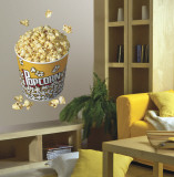 Movie Popcorn Autocollant mural par Calvin Tucker