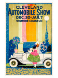 Cleveland Automobile Show Giclee Print