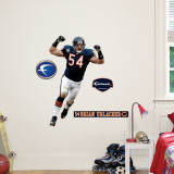 Brian Urlacher Fathead Junior Wall Decal