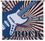 Electric Rock Wall Tapestry