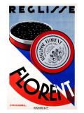 Reglisse Florent Giclee Print