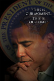 Obama - This Is Our Moment Poster