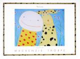 Liebende Poster von Mackenzie Thorpe