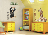 Safari Duo Wall Decal by Dorling Kindersley
