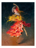 Spanish dancer Giclee Print