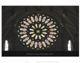 The Church Comes Alive with Stained Glass Windows Prints by Graham Rhodes