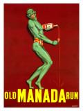 Old Manada Rum Giclee Print