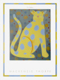 S. Catten Print by Mackenzie Thorpe