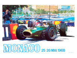 Monaco 1968 Giclee Print by  Archivea Arts