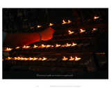 Thousends of Candles Can Be Lit with a Single Candle Poster by Graham Rhodes