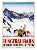 Jungfrau-Bahn Giclée-Druck