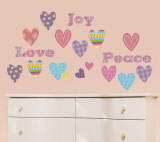 Heart-To-Heart Wall Decal