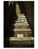 Follow Me and Climb the Stairs Print by Graham Rhodes