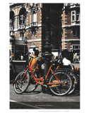 Les Bicyclettes de Belsize Prints by Graham Rhodes
