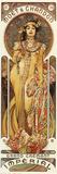Moet & Chandon Kunstdrucke von Alphonse Mucha