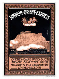 Simplon Orient Express, Londres Giclee Print