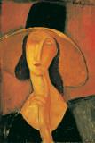 Jeanne Hebuterne Affiche par Amedeo Modigliani