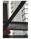 Le Ballon Rouge Posters by Graham Rhodes