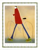 Man in Flares Kunst av Mackenzie Thorpe