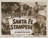 Santa Fe Stampede Masterprint