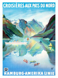 Croisieres aux Pays du Nord Giclee Print