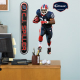 CJ Spiller Fathead Junior Wall Decal