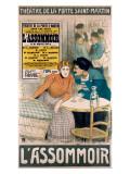 L'Assommoir Giclee Print
