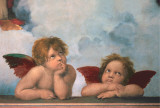 Cherubini Poster by (Raffaello) Raphael