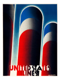 United States Lines Giclee Print