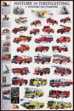 History of Firefighting Poster