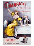 Champagne Scohyers de Dorlodot Giclee Print