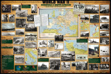 World War II, European & North Africa, Poster
