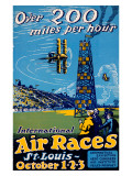 Air Races St. Louis Giclee Print