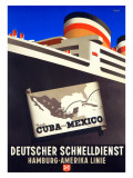 Cruise Cuba and Mexico Gicleetryck