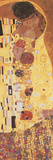Gustav Klimt - The Kiss (Der Kuss), detail Obrazy