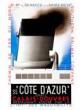SS Cote d'Azur Giclee Print