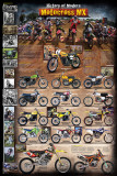 Motocross MX The Modern Era 1970 - present Prints
