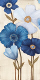 Fleurs Bleues I Prints by  Maja