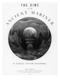 Title Page from 'The Rime of the Ancient Mariner' by S.T. Coleridge, Published by Harper and Brothe Giclée-Druck von Gustave Dore