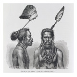 Man of the Ruk Islands, from 'The History of Mankind', Vol.1, by Prof. Friedrich Ratzel, 1896 Giclee Print by  English School