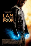 I Am Number Four - UK Style Masterprint