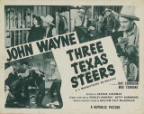 Three Texas Steers Masterprint