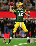 Aaron Rodgers Action from Super Bowl XLV (18) Photo