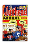 Archie Comics Retro: Jughead Annual Comic Book Cover No.1 (Aged) Prints
