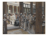 But No Man Laid Hands Upon Him, Illustration from 'The Life of Our Lord Jesus Christ', 1886-96 Giclee Print by James Tissot