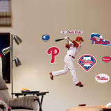 Chase Utley Fathead Junior Wall Decal