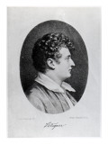 Esaias Tegner, Engraved by Isaac Wilhelm Tegner and Johann Adolf Kittendorff Giclee Print by Leonard Henrik Roos af Hjelmsater